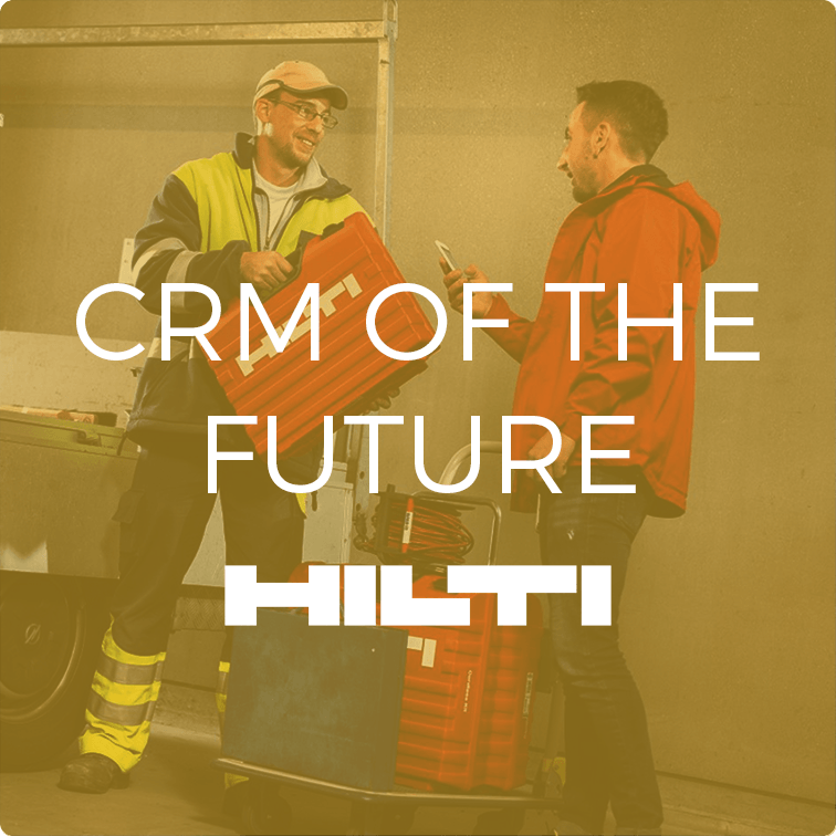 User Research to improve Hilti's CRM systems